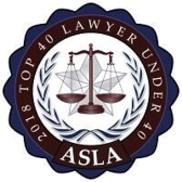 Top 40 Lawyer Under 40 ASLA 2018